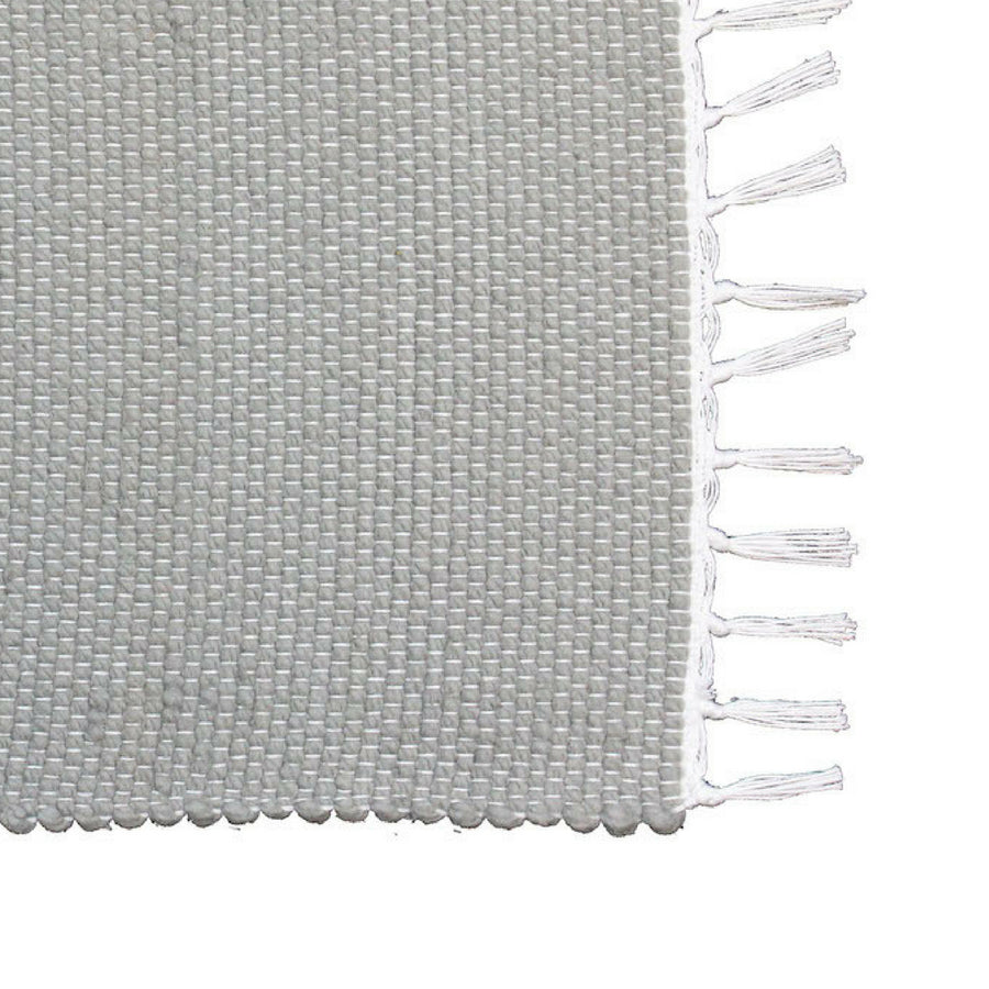 Dhurrie Tabby Grey Placemat