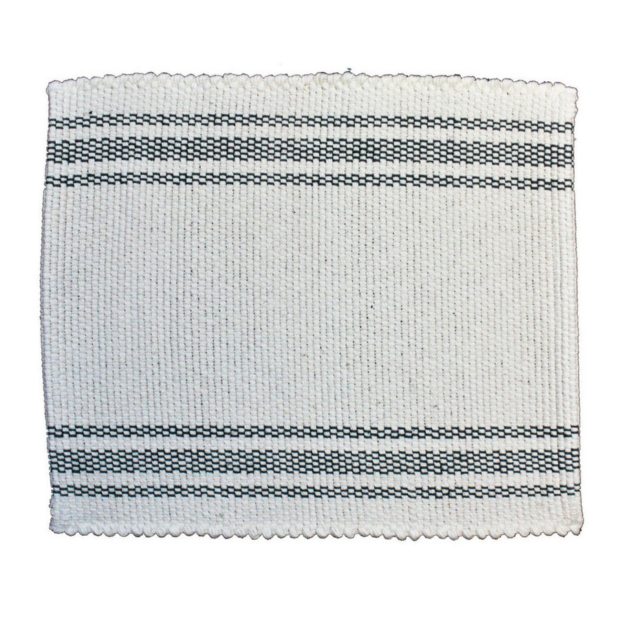 Tabby Natural with Charcoal Placemat - KNUS
