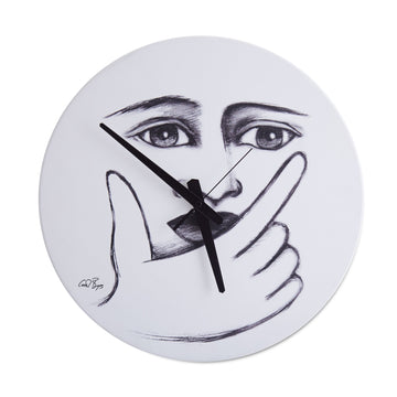 Wait a Sec Wall Clock - KNUS