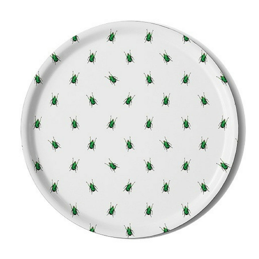 Emerald Scarab Serving Tray - KNUS