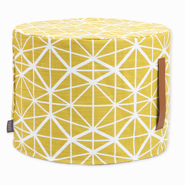 Harvest Facet Floor Ottoman