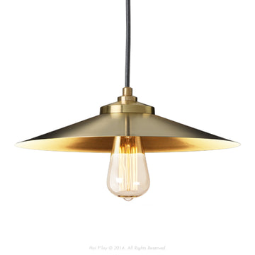 Empire Pendant Exposed Shade Gold - KNUS