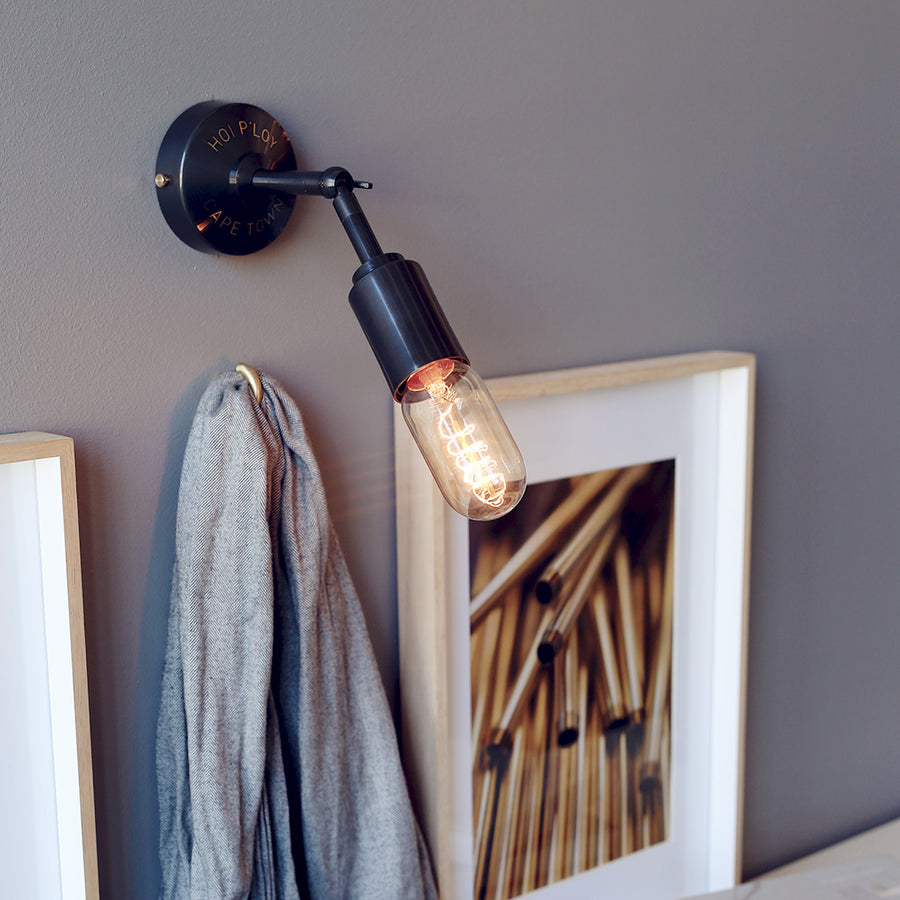 Signature Swivel Gunmetal Grey Wall Sconce