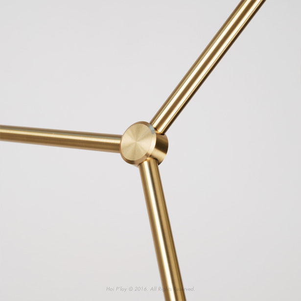 Molecule 16 Light Brass