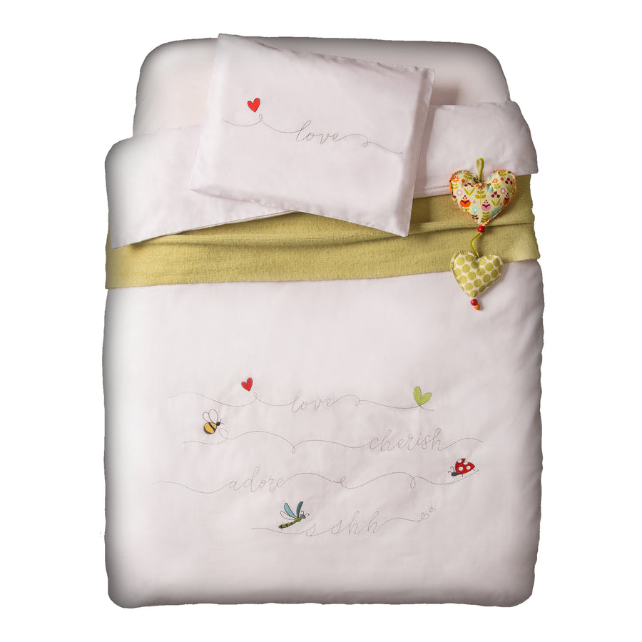 Love Bugs Baby Duvet Set