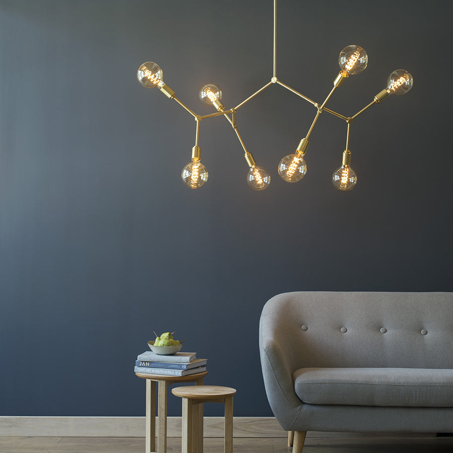 Molecule 8 Light Brass