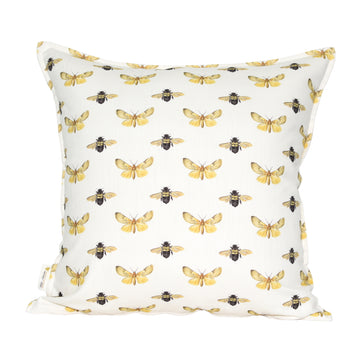 Moth & Bee Scatter Cushion - KNUS