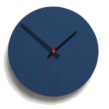 Round Clock Midnight Blue - KNUS