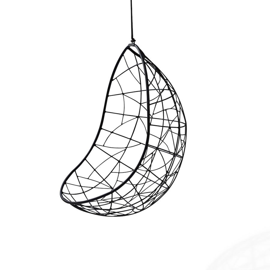Nest Egg Hanging Swing Chair   Twig Pattern ...