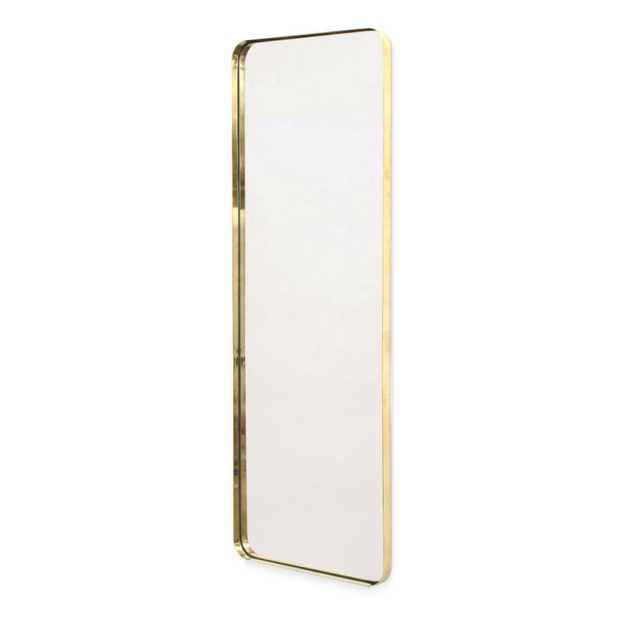 Brass Deep Frame Soft Edge Mirror - KNUS