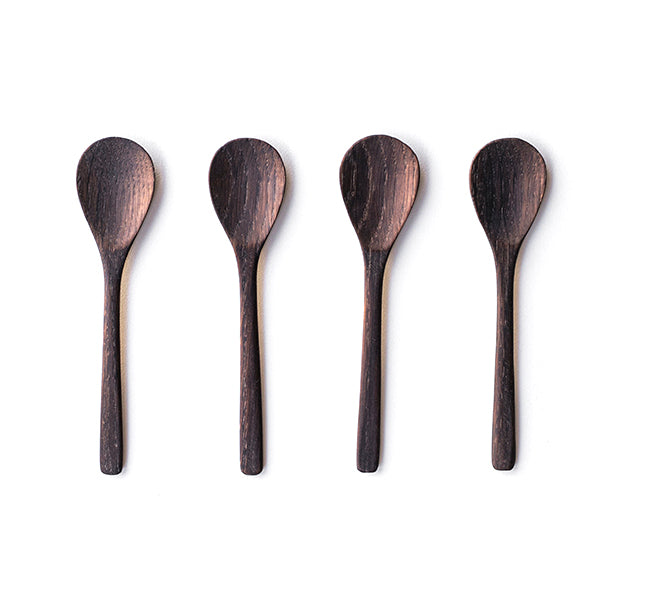 Wooden Spoon Set of 4