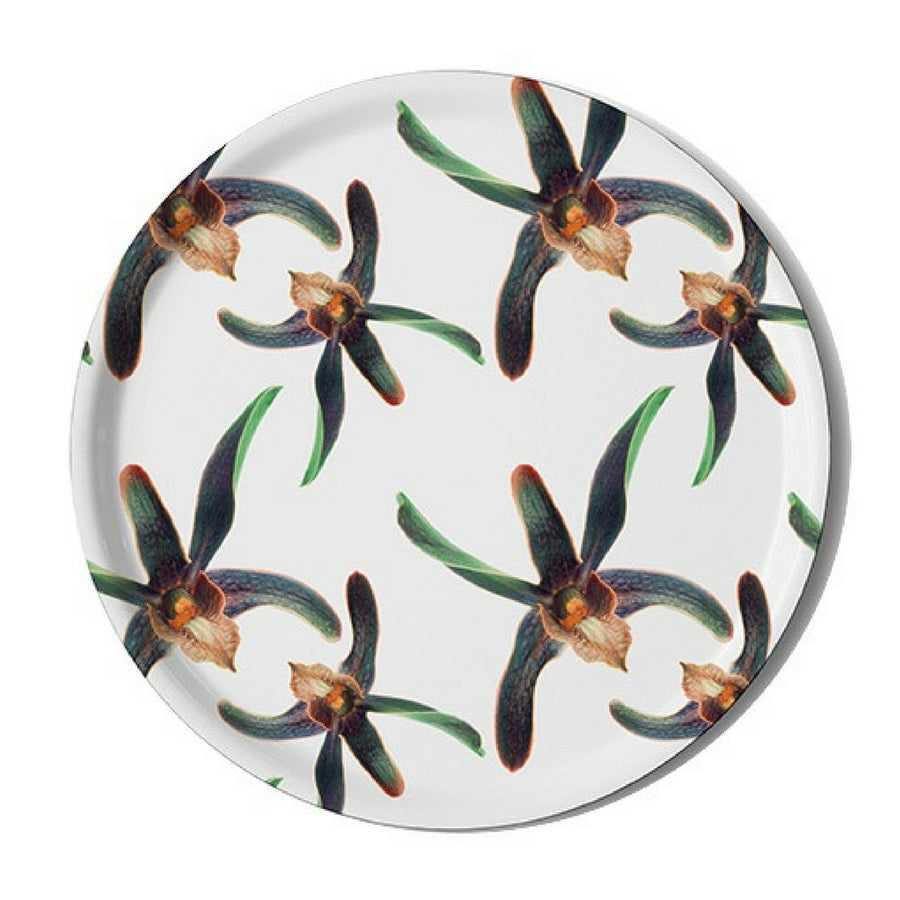 Orchid Party (White) Serving Tray - KNUS
