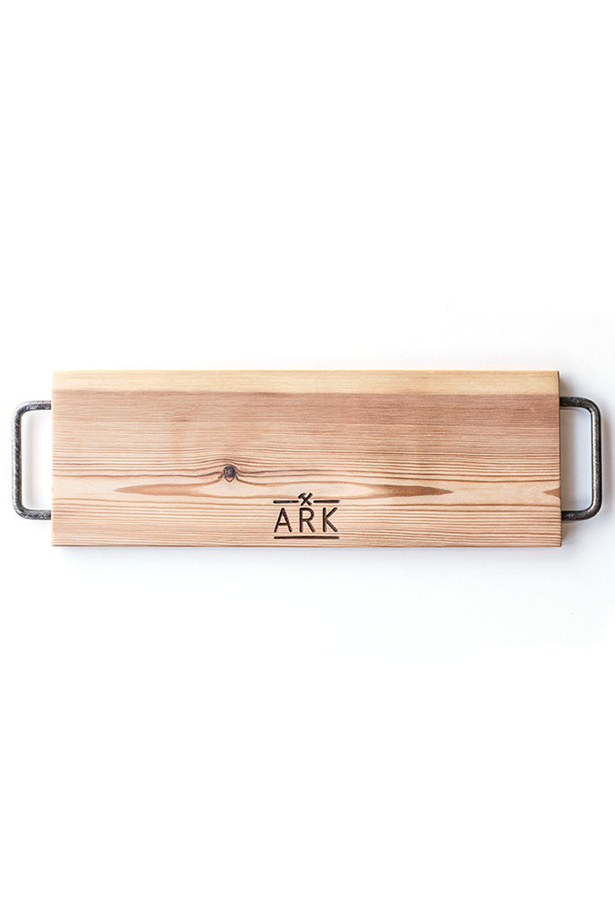 Oregon Pine board with metal handles - KNUS