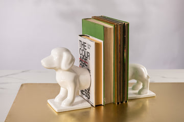 KOREA SAUSAGE DOG BOOKEND - KNUS