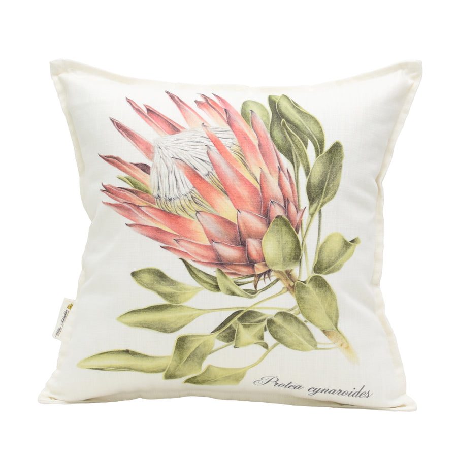 Protea Cynaroids Side Scatter Cushion - KNUS