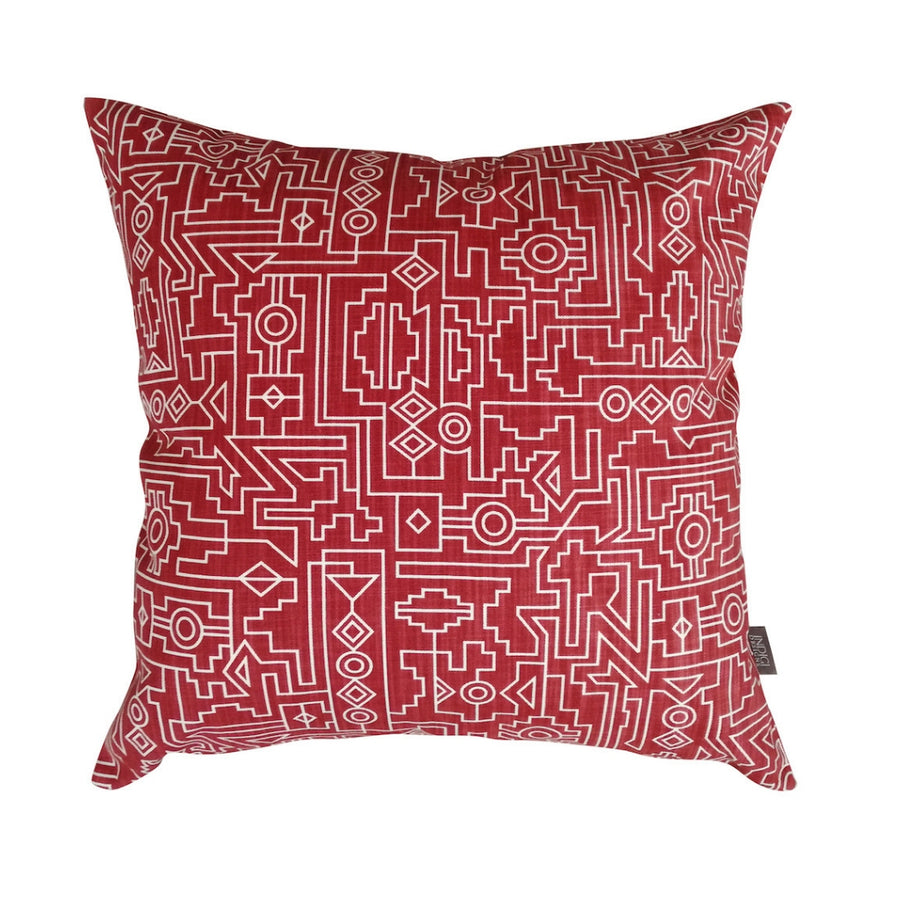 Red Ndemetric Scatter Cushion - KNUS