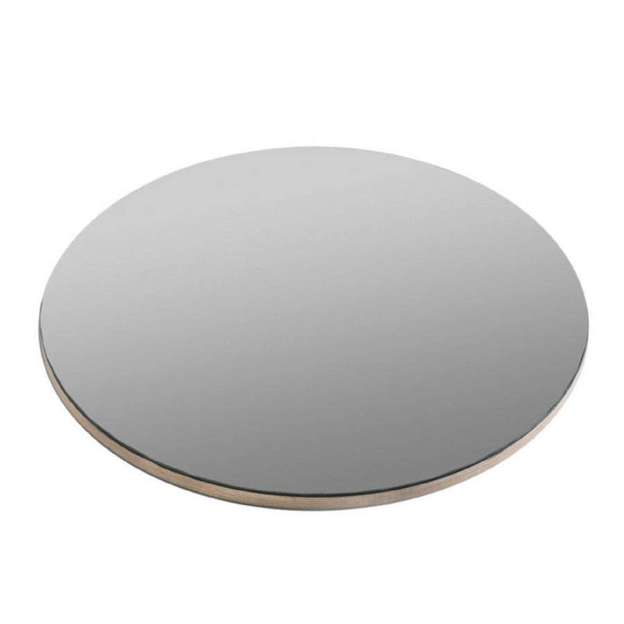 Round Birch Frameless Mirror - KNUS