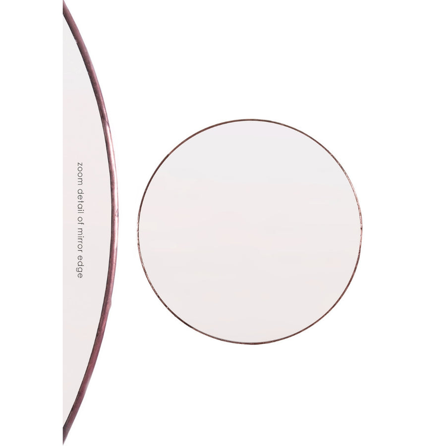 Round Wall Mirror Copper - KNUS