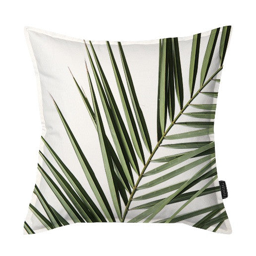 Coastal Palm Frond Scatter Cushion