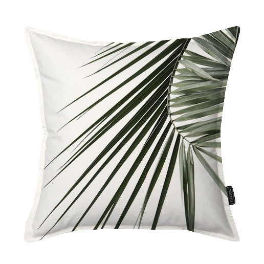 Coastal Palm Frond 2 Scatter Cushion
