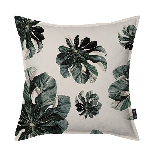 Jungle Cecropia (greige) Scatter Cushion