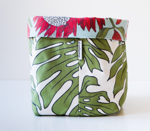 Protea Blue / Delicious Monster Fabric Pot - KNUS
