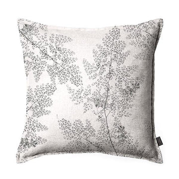 Silver Fern Scatter Cushion DBL sided print