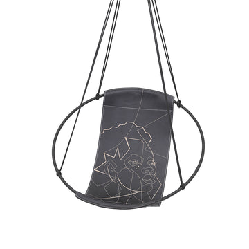 Sling Hanging Swing Chair - Face Of Africa