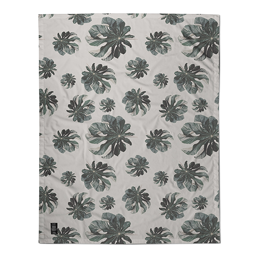 Jungle Cecropia (greige) Table Cloth
