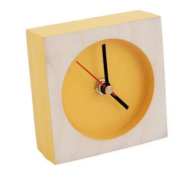 Yellow Time-Out Clock
