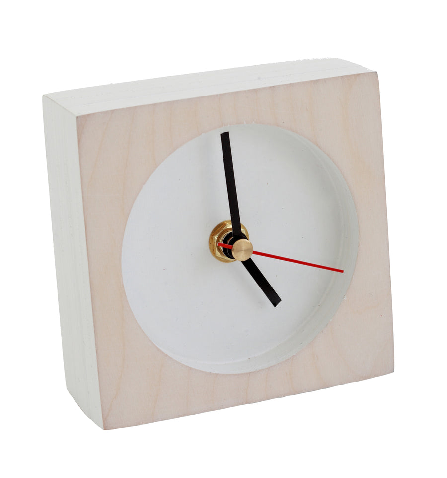 White Time-Out Clock