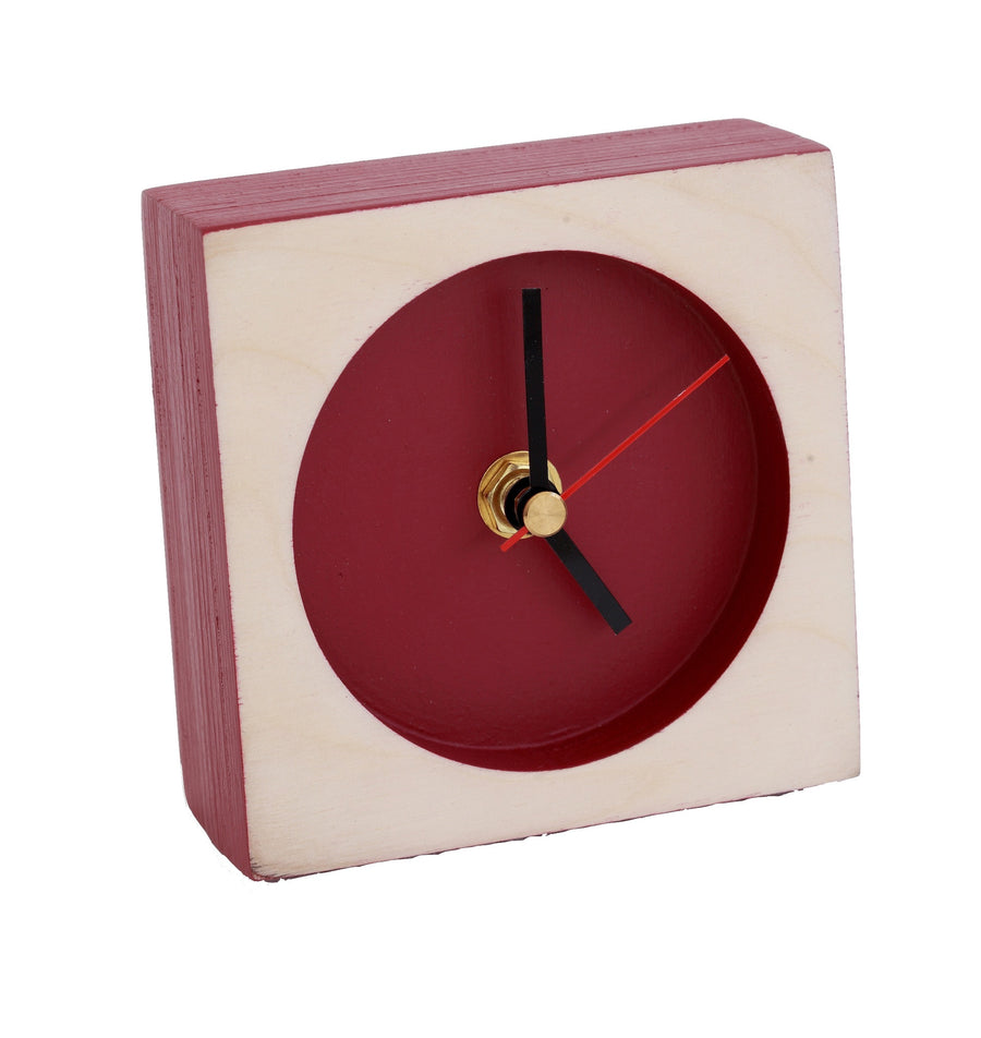 Maroon Time-Out Clock