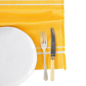 African Contemporary Placemats Yellow - KNUS