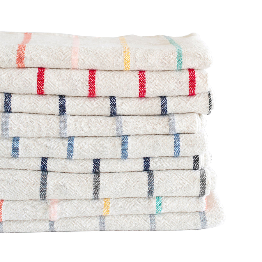 French Country Stripe Throughout Towel