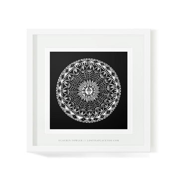 Mandala Diamond Art Print - KNUS