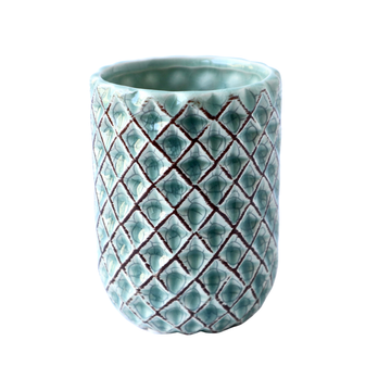 Sage Diamond Planter - KNUS