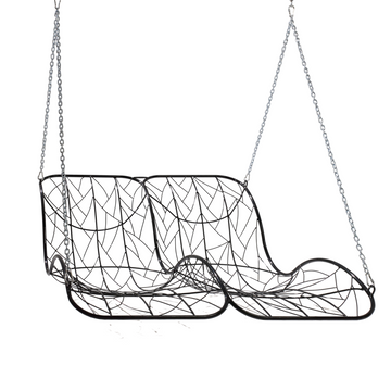 Double Recliner Swing Chair - KNUS