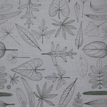 Natural Leaves Fabric - KNUS