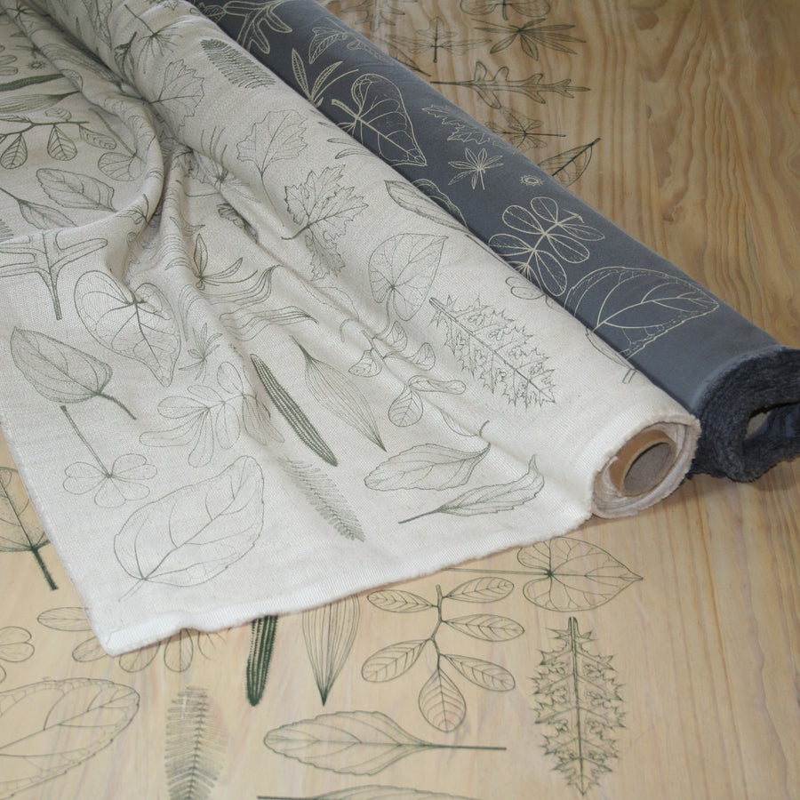 Natural Leaves Fabric (Per Meter)
