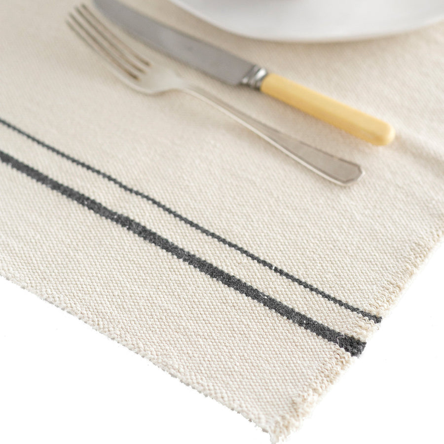 French Country Placemats Charcoal - KNUS