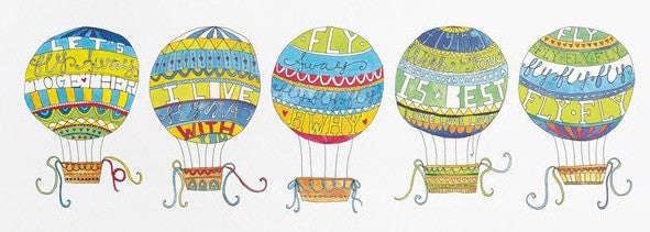 Hot Air Balloons Art Print