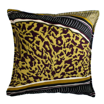 Leopard Stripe Velvet Scatter Cushion - KNUS