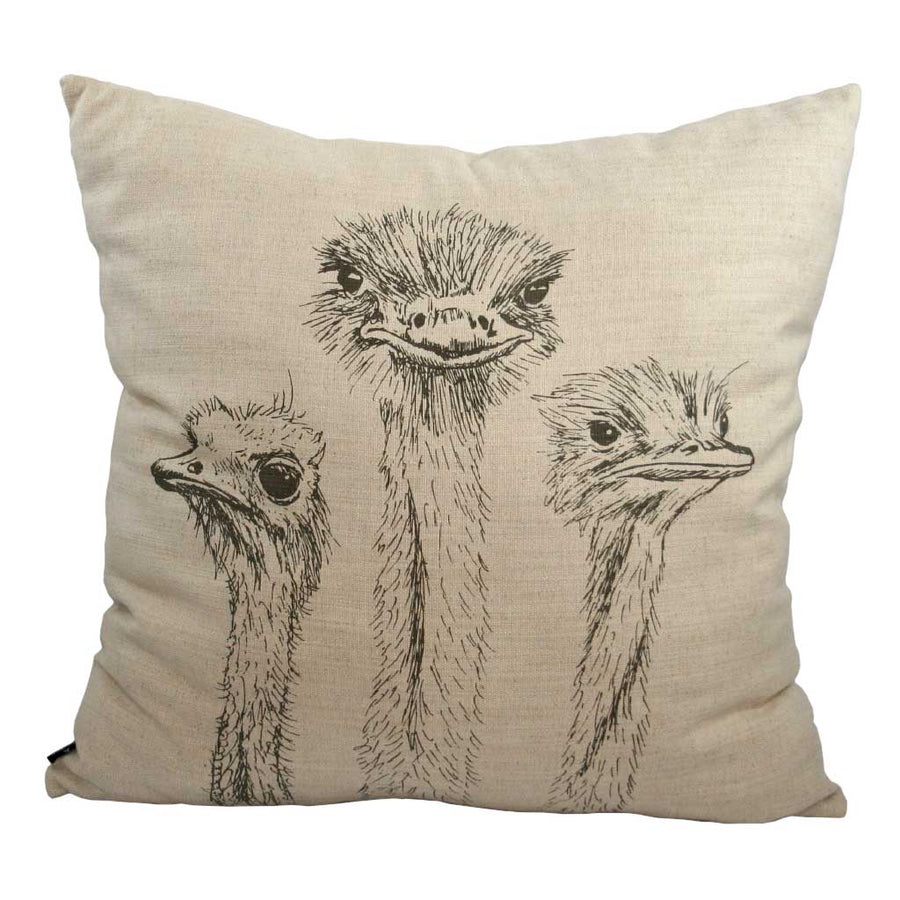 Ostriches Scatter Cushion - KNUS