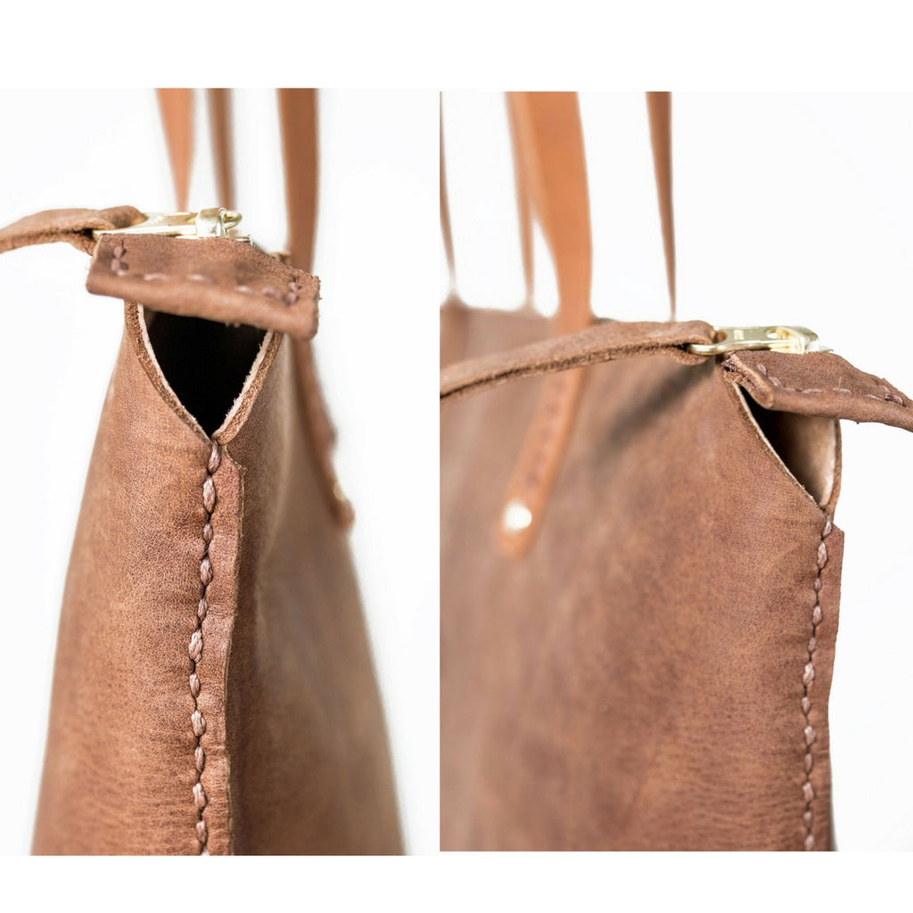 Zipped Ruth Tote Handbag
