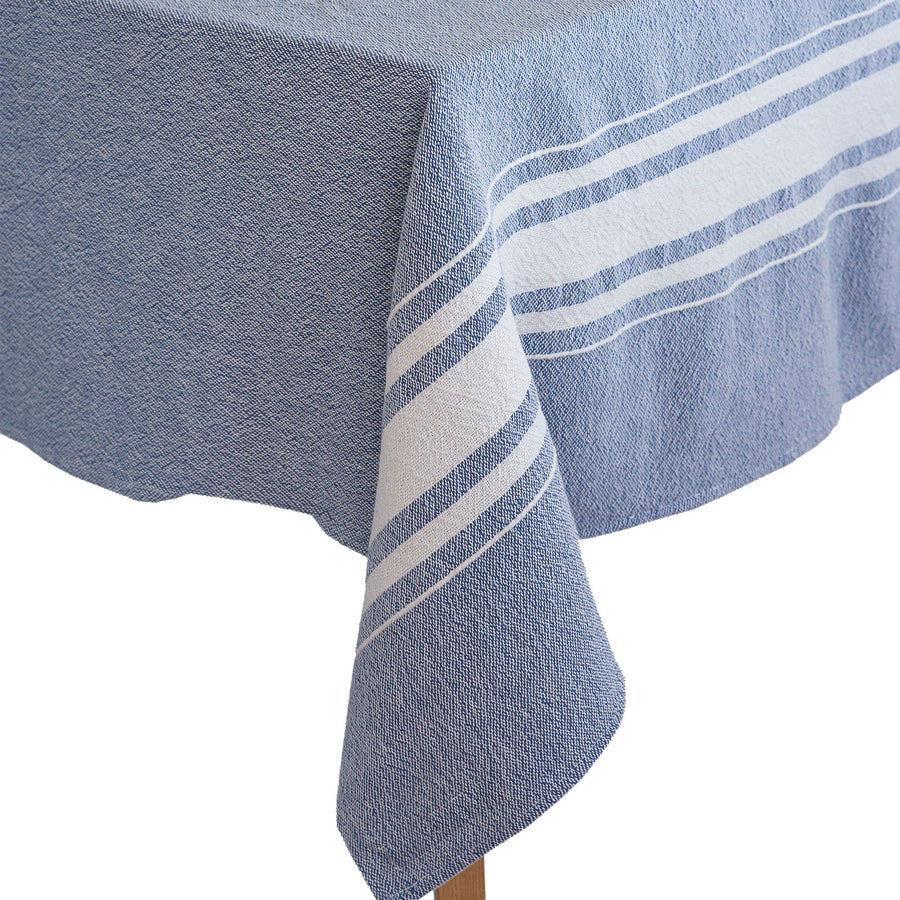 African Contemporary Table Cloth Indigo - KNUS