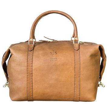 The Hand-Stitched Duffle - Tan