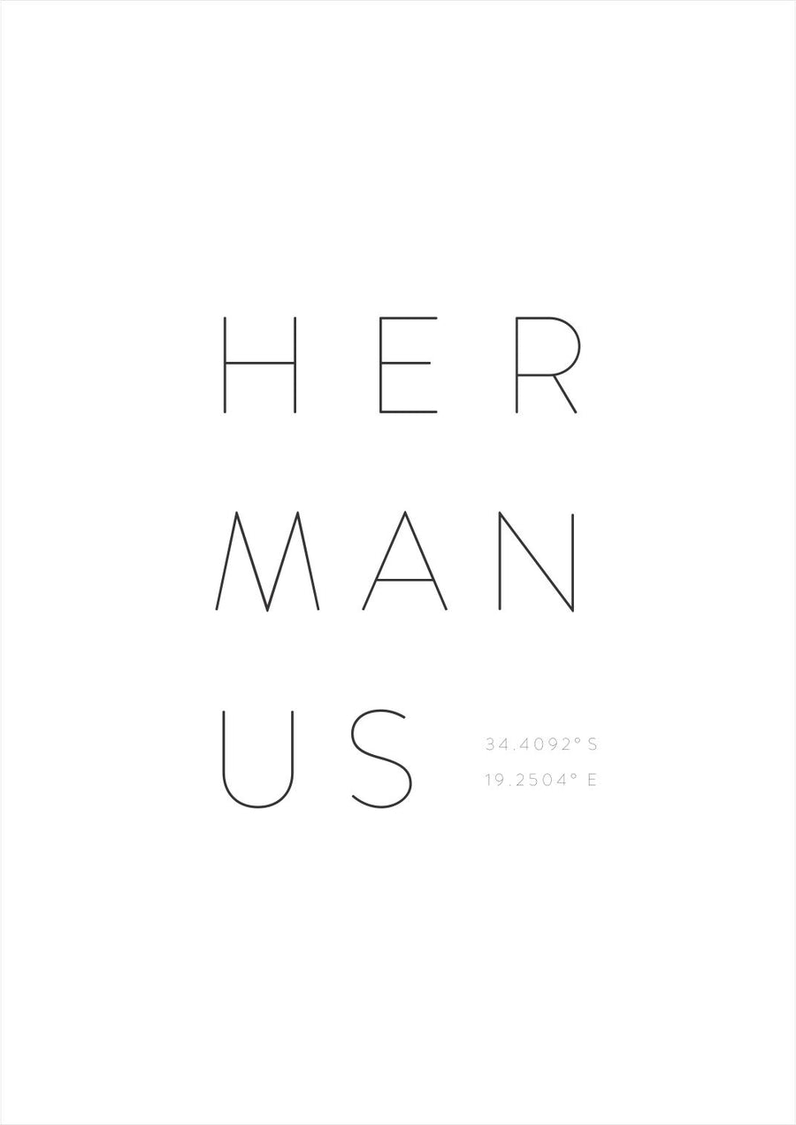 Hermanus Art Print - KNUS