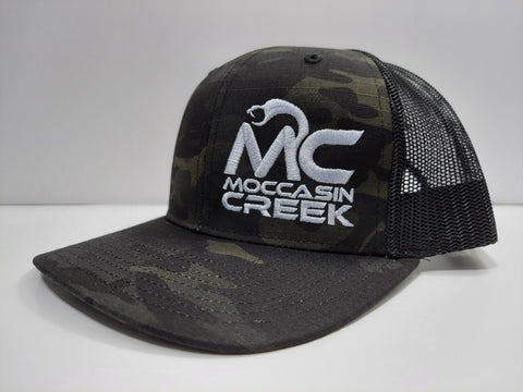 *NEW*  Black & Green Camo Hat