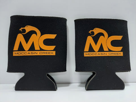 Orange Logo Koozies (set of two)