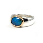 Gold Bezel Black Opal 2
